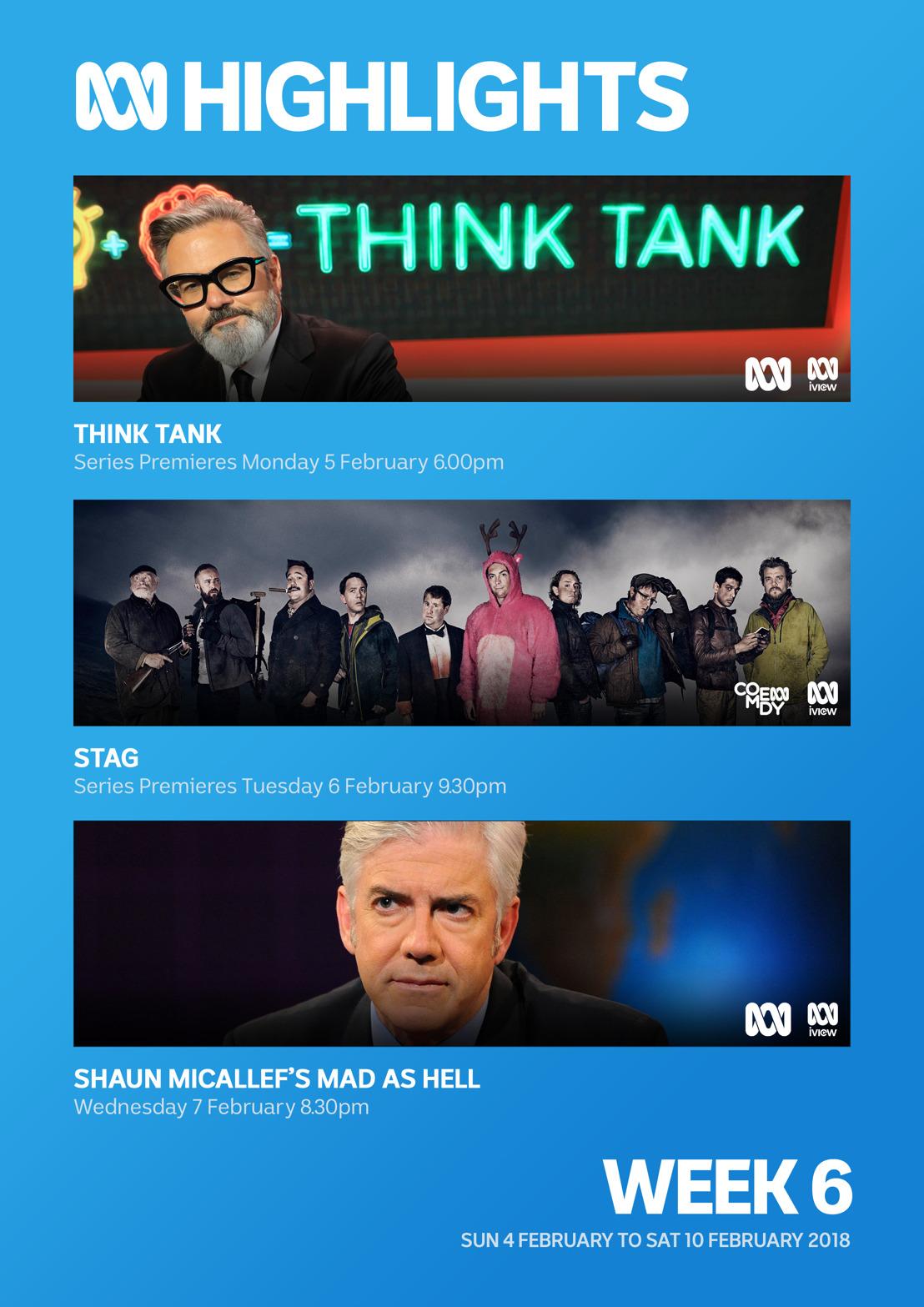 ABC TV Program Highlights - Week 6