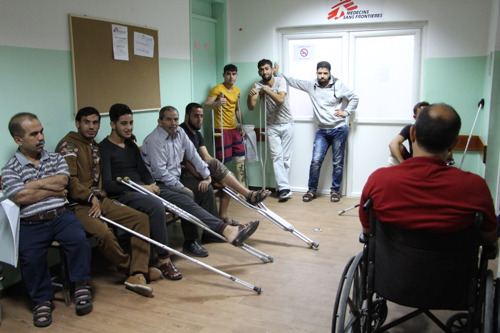 MSF: Gaza's injured facing healthcare emergency