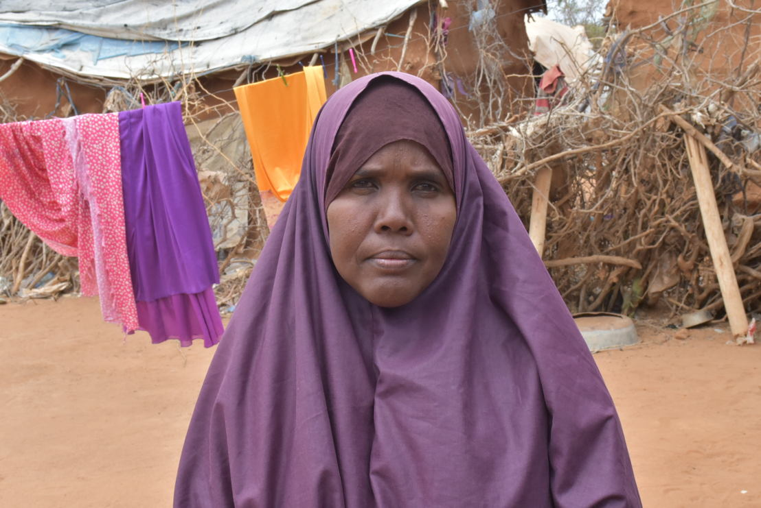 Sahara Abdirahman, a Somali refugee in Dagahaley camp, Dadaab. <br/><br/>&quot;I fear repatriation to Somalia because I know the kind of life I have passed there. I know how much I had been fleeing. I fled from Mogadishu to Luq and from Luq to Kismayo and from Kismayo to Mogadishu and from Mogadishu to Kismayo. I was a refugee inside my own country between 1992 and 2008. <br/><br/>There is nothing in Somalia. Let us not lie about the situation. I hear the news in the media. I do not live in luxury here, but at least I sleep peacefully.&quot; Photographer: Mohamed Ali