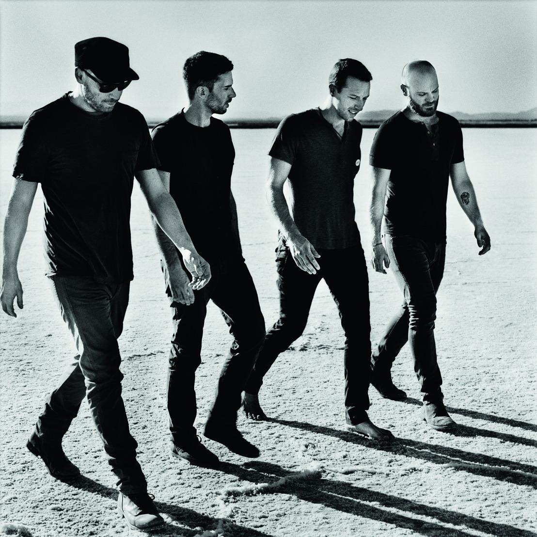 Beleef het succesverhaal van Coldplay éénmalig op het grote scherm bij Kinepolis