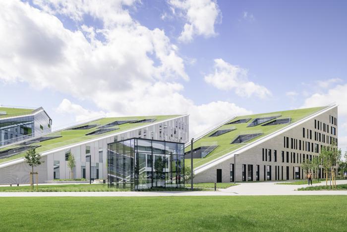 L'entreprise technologique Cegeka s'agrandit en occupant l'immeuble Corda 3 sur le campus de Corda