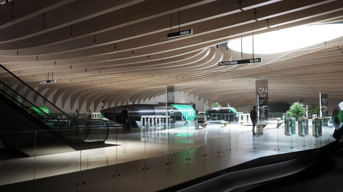 Hyperloop Station 1