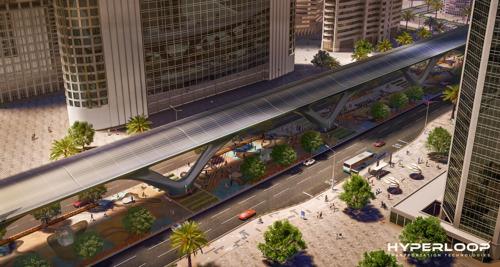 Hyperloop Transportation Technologies anuncia primeiro sistema Hyperloop nos Emirados Árabes Unidos