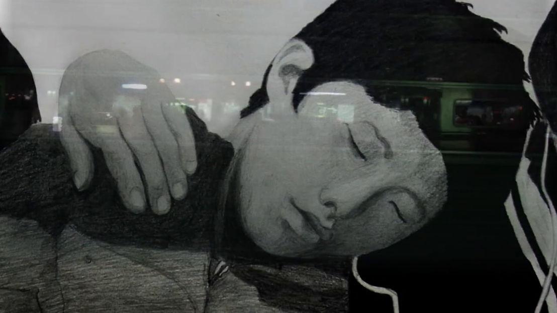 Isabella Gresser & Byung-Chul Han - 18/12 © Isabella Gresser