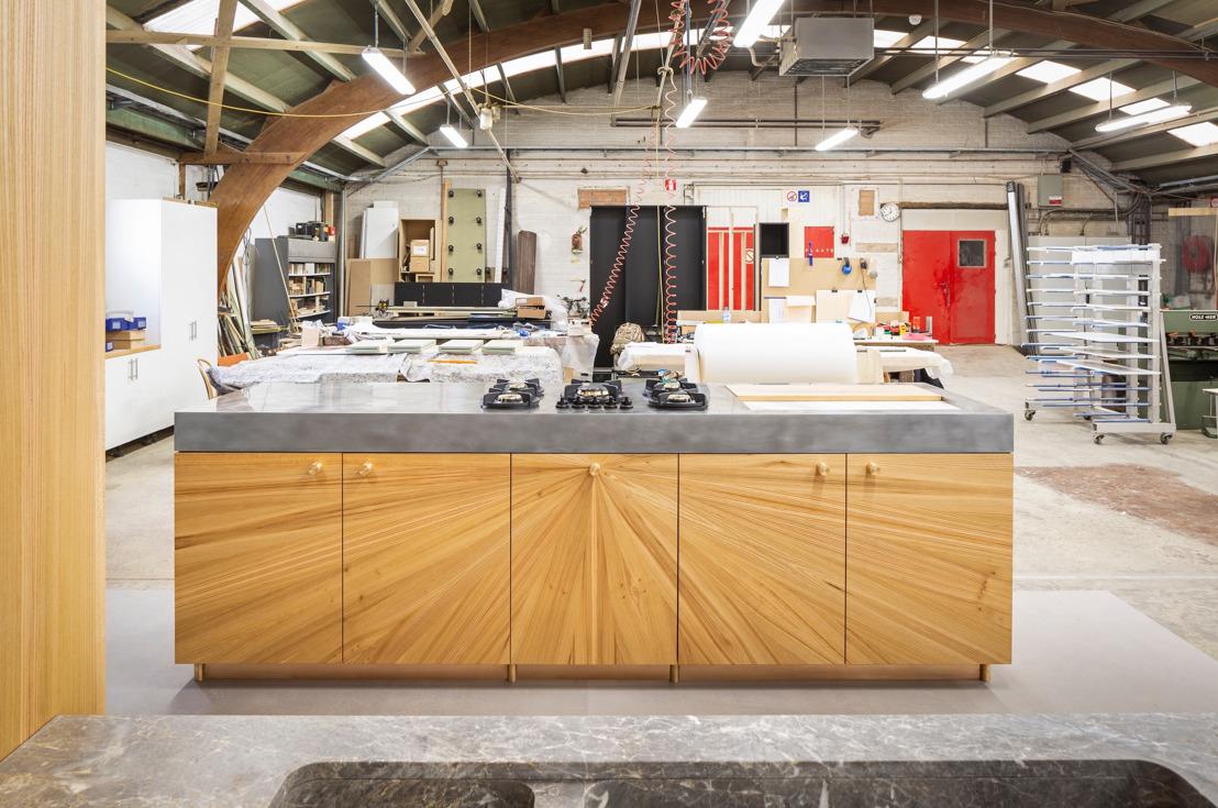 Michaël Verheyden, Koen Roux et Bart America conçoivent une cuisine de luxe fonctionnelle