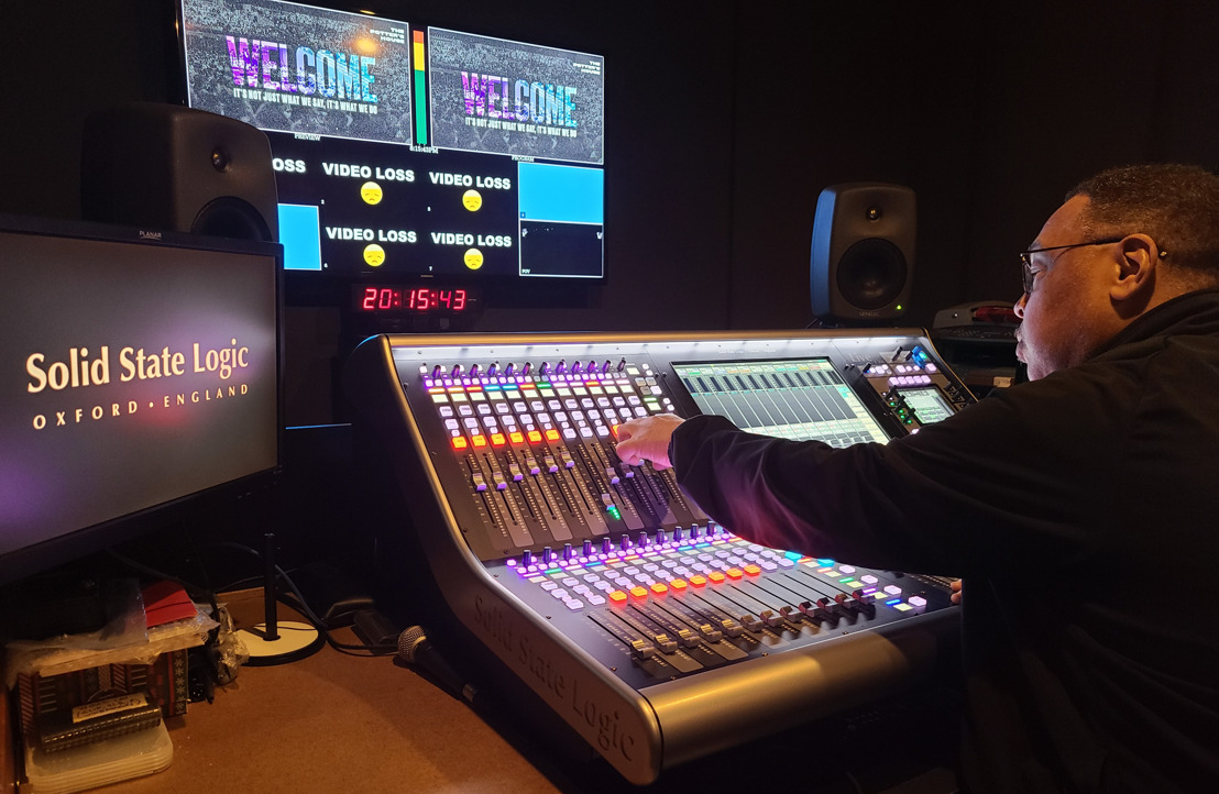 Potter's House Church Upgrades to Solid State Logic Live Series Consoles
