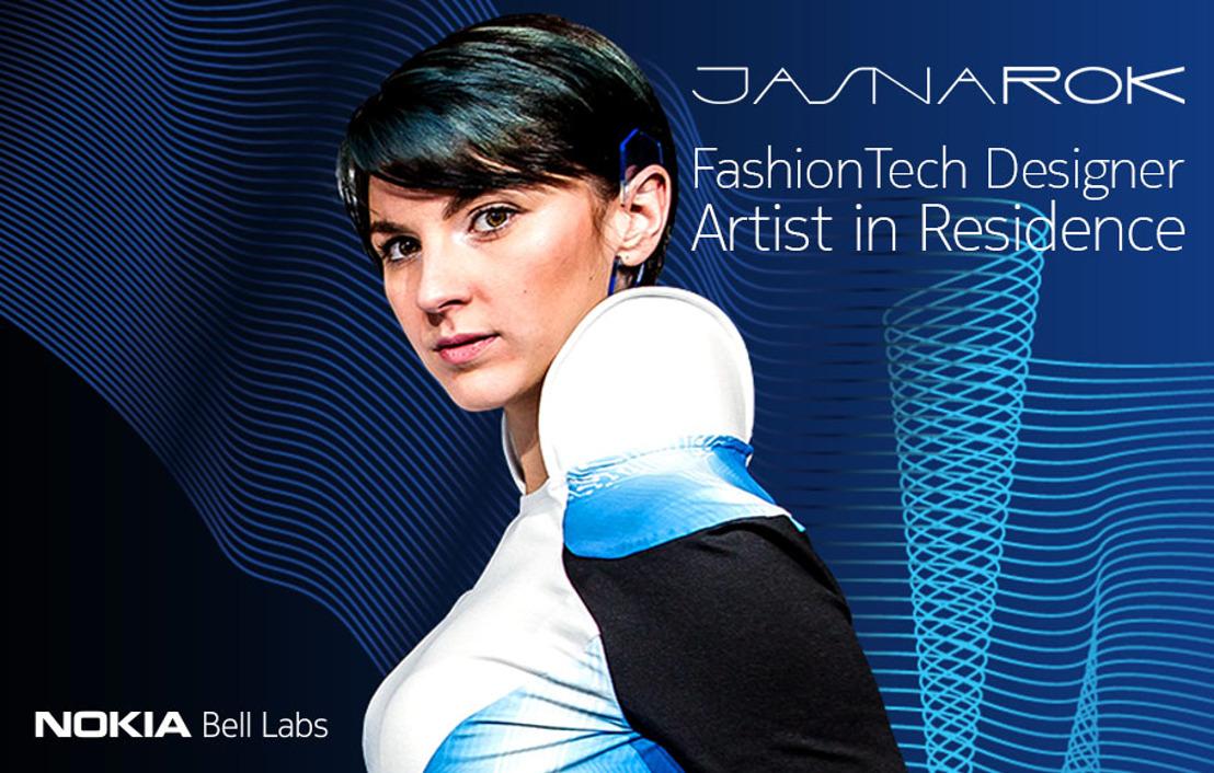 Nokia Bell Labs en Jasna Rok sluiten partnership voor het ontwerpen van innovatieve 'slimme' kleding