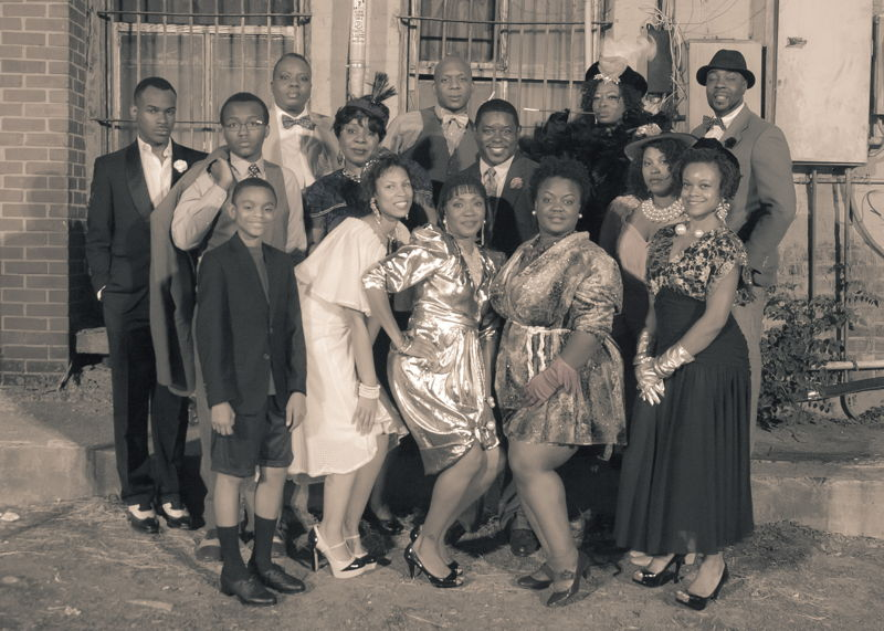 Cast Photo- For The Love of Harlem.  Photo Credit: Lovo