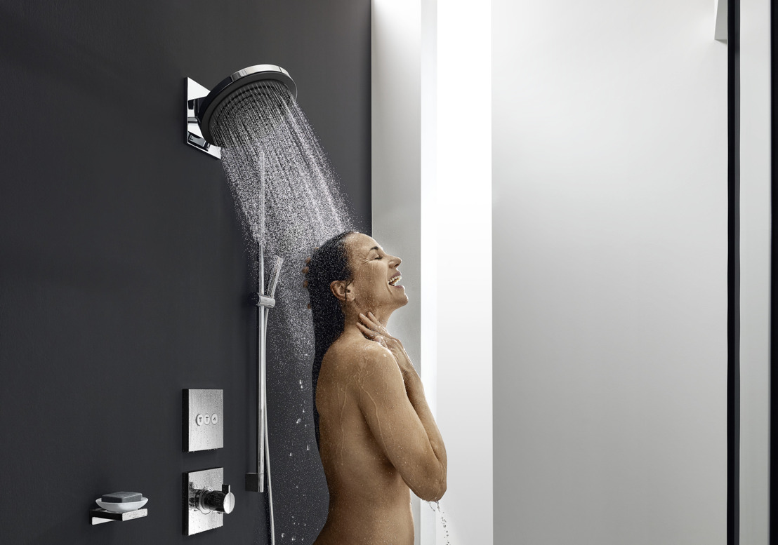 hansgrohe Pulsify: Maximaal doucheplezier, ook in kleine badkamers