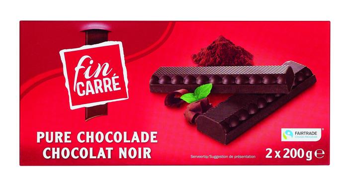 Plus de 645 tonnes de chocolat Fairtrade vendues chez Lidl