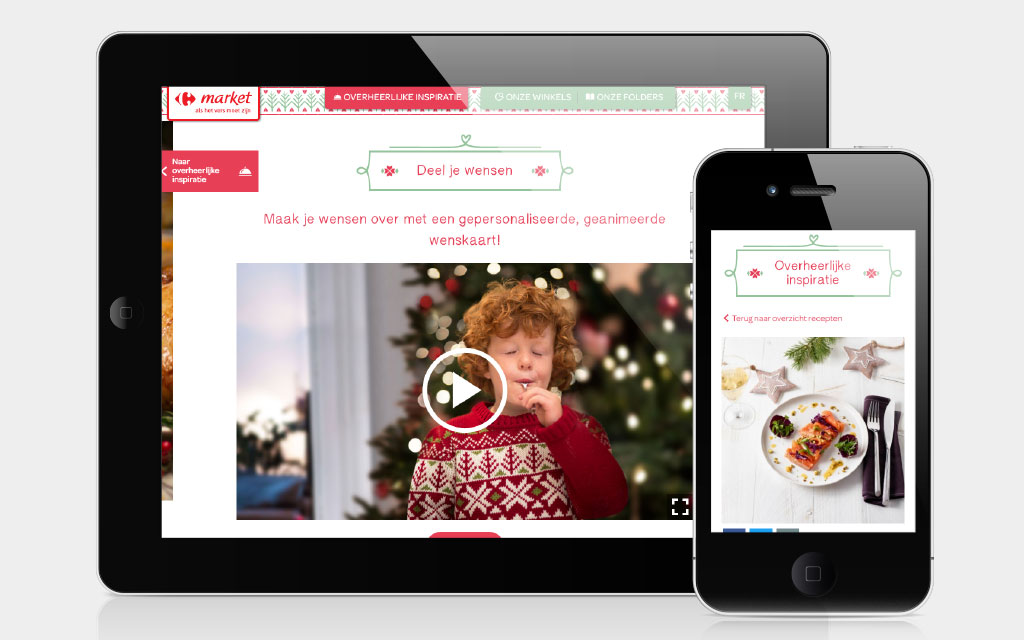 Delicious inspiration on your mobile devices