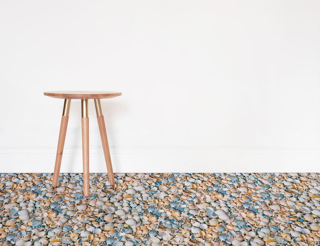Seashell |   <br/>Shell Texture Vinyl Flooring