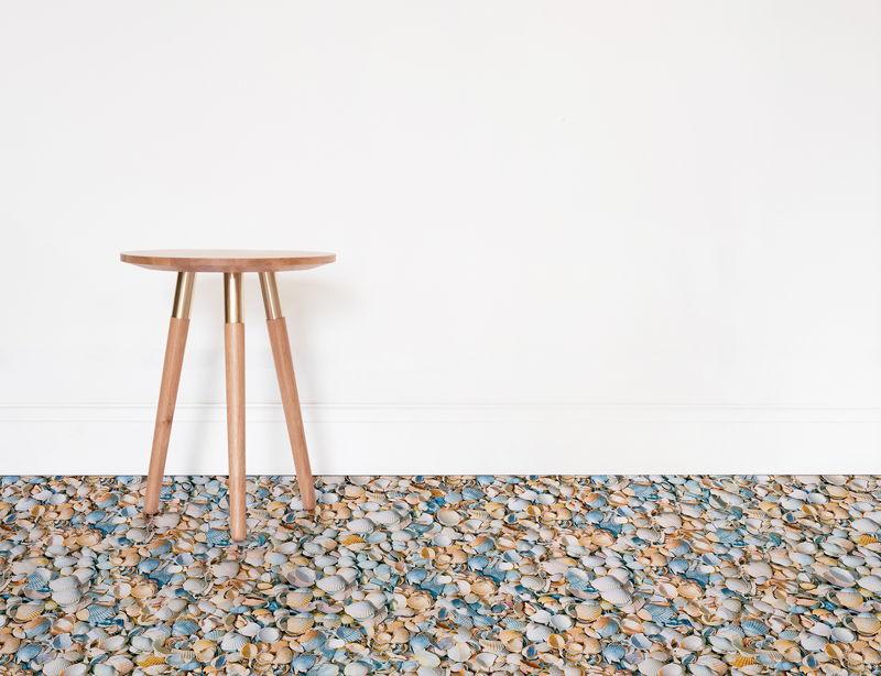 Seashell     <br/>Shell Texture Vinyl Flooring