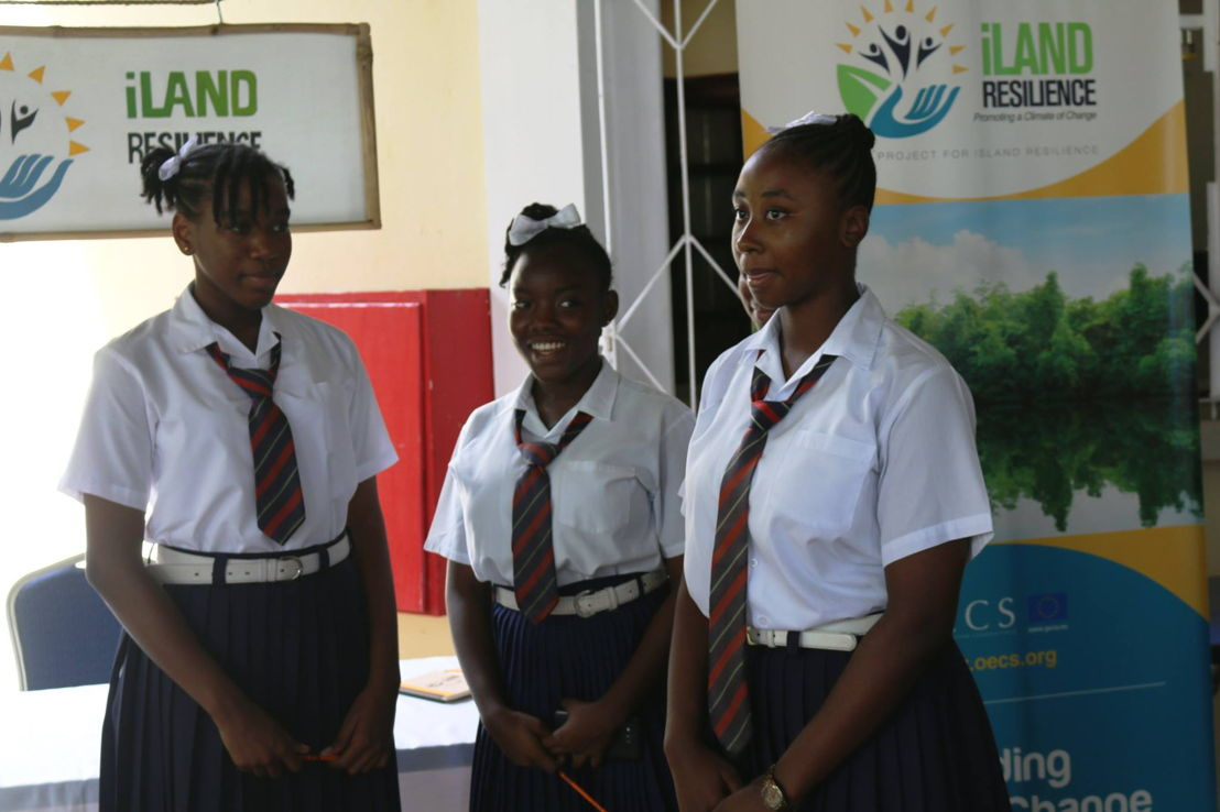 Grenadian students learn about iLAND Resilience