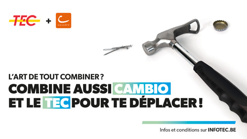 Le TEC et Cambio, la combinaison idéale !