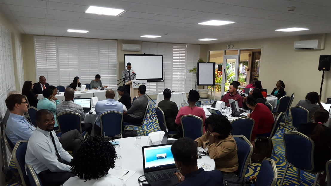 Participants of the Data Dissemination Workshop in Grenada