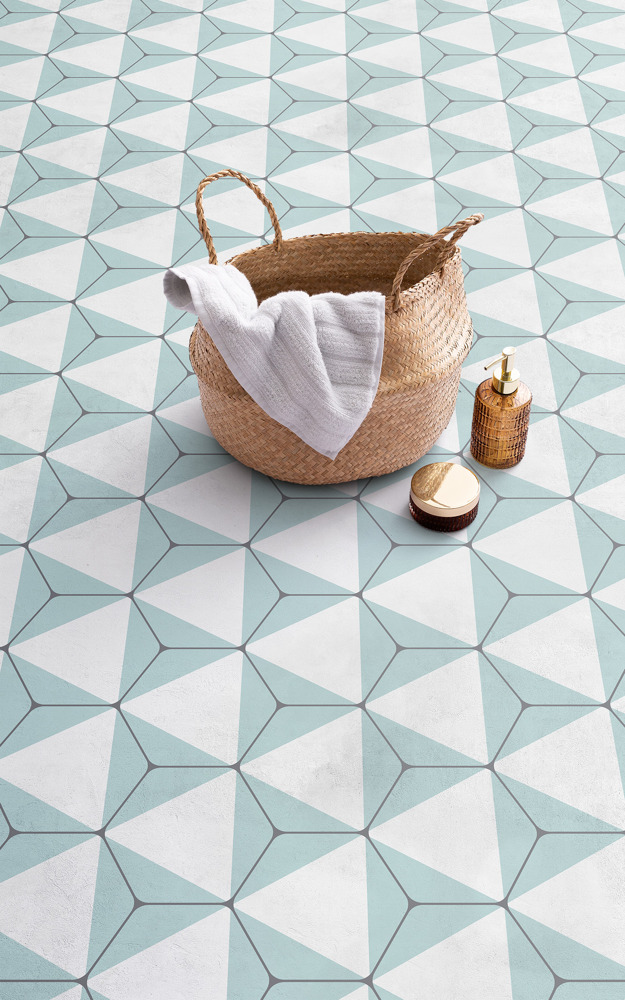 Preview: Creative coloured tiles are made easy with the Shifting Shapes collection