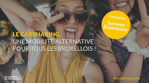 """Lancering """"Carsharing Summer Experience"""" in Brussel"""