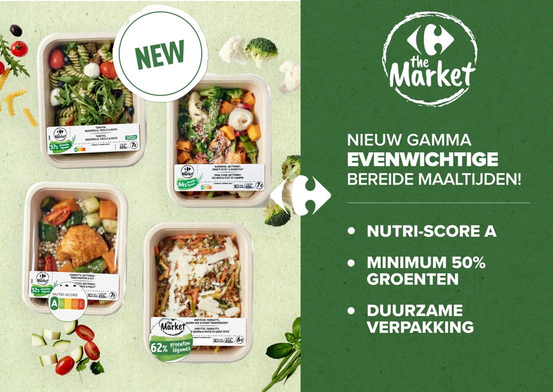 Carrefour lanceert een gloednieuw assortiment evenwichtige bereide maaltijden