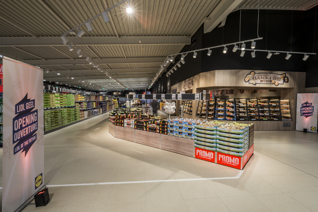 Lidl opent nieuw winkelconcept