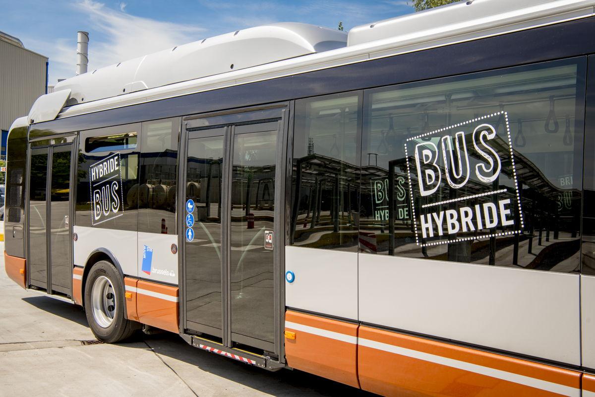Iveco hybride gelede bus