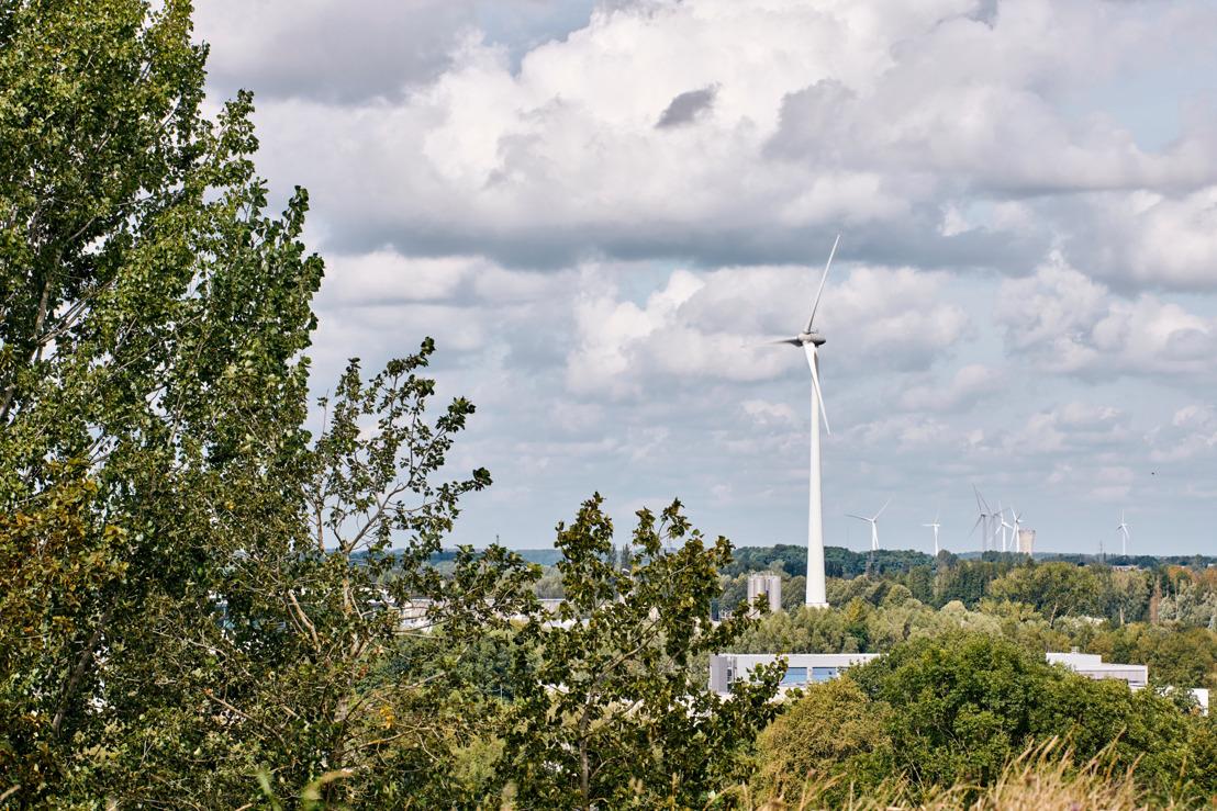 Een project van 4 nieuwe windturbines op het bedrijventerrein Hauts-Sarts in Herstal