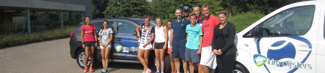 Hyundai Belgium wordt partner van de Kim Clijsters Academy