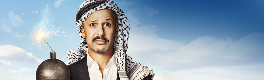 Maz Jobrani returns to Belgium