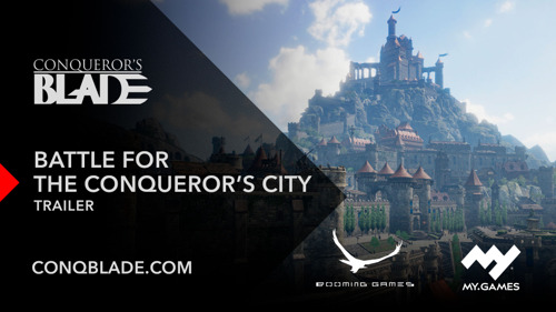 THE BATTLE FOR THE CONQUEROR'S CITY STARTS TODAY