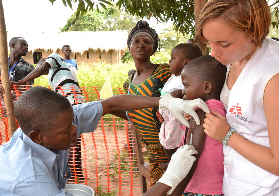 MSF : Plus d'un million d'enfants vaccinés contre la rougeole en République Démocratique du Congo