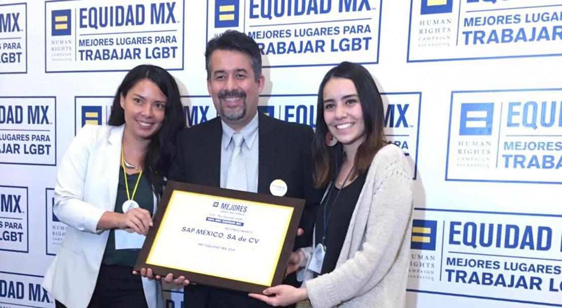 SAP obtiene la mayor calificación en el primer Informe de HRC Equidad MX sobre inclusión LGBT en el centro laboral