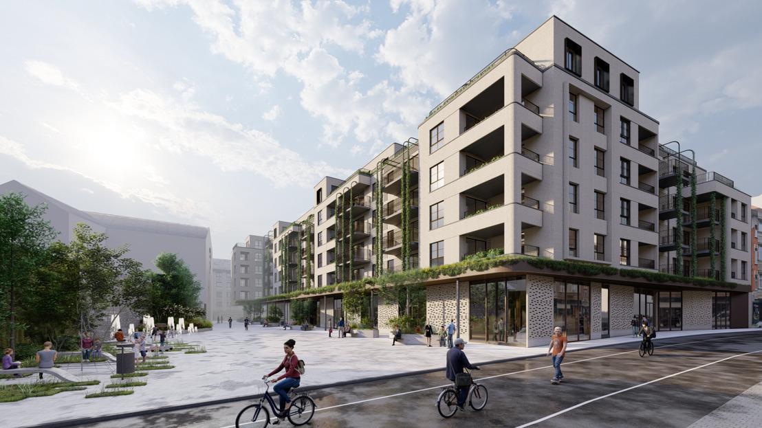 Dépôt de la demande de permis et nouvelles adaptations du projet immobilier de la Rue des Carmes à Namur