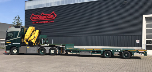 Nooteboom supplies 10 new semi low-loaders to Bolk Transport