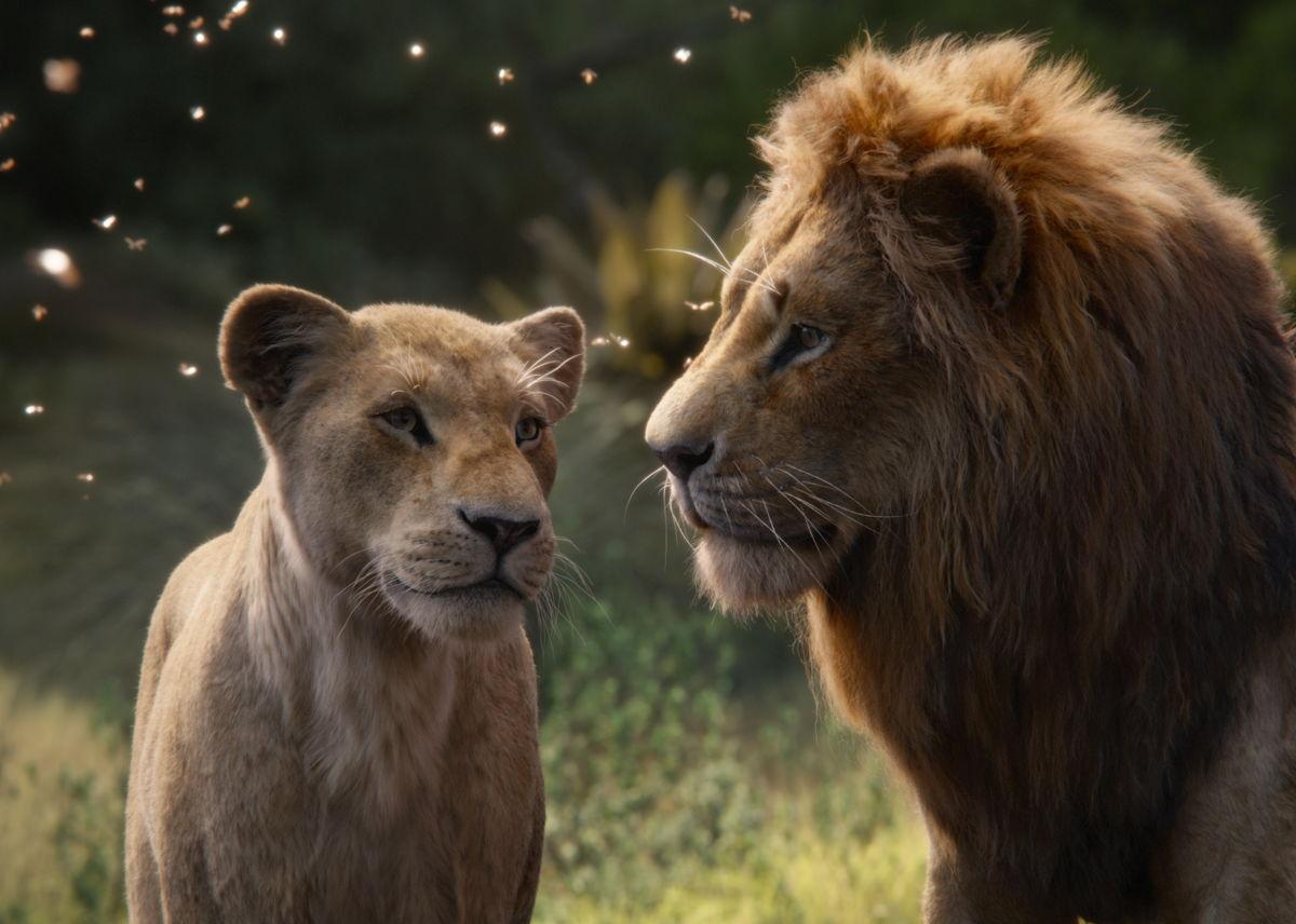 Een beeld uit De Leeuwenkoning. (c) Disney