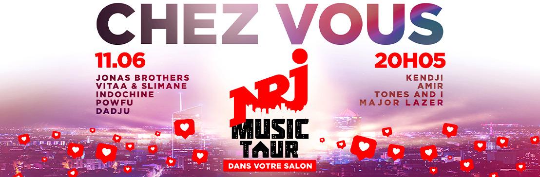 Le NRJ Music Tour est de retour… dans votre salon