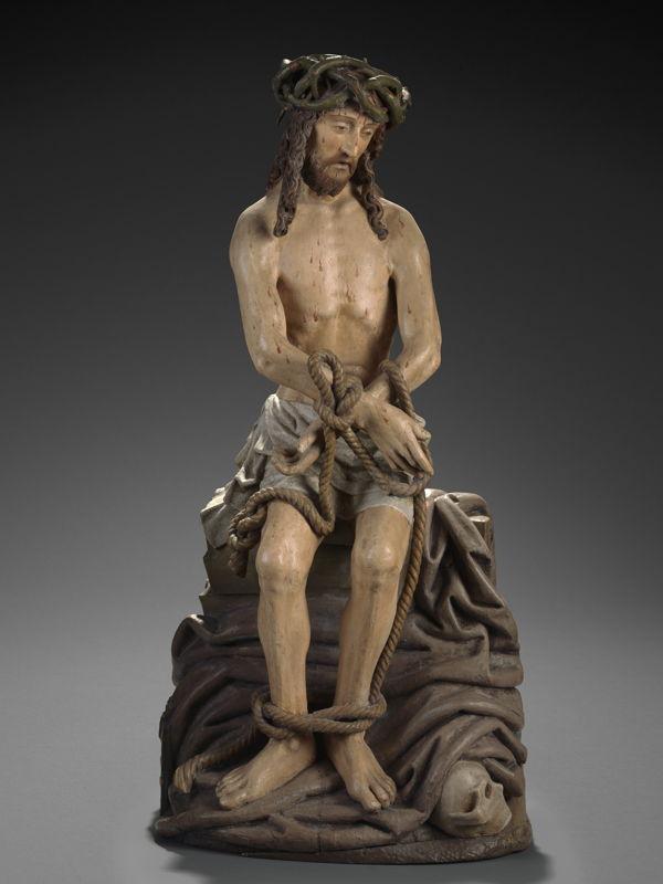 Christ de pitié, Maître du Christ de pitié, c. 1500 © Lukas - Art in Flanders, foto Dominique Provost