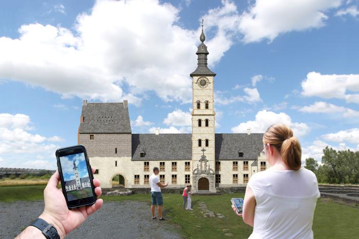 Baanbrekende virtuele toepassingen in Ename op Open Monumentendag