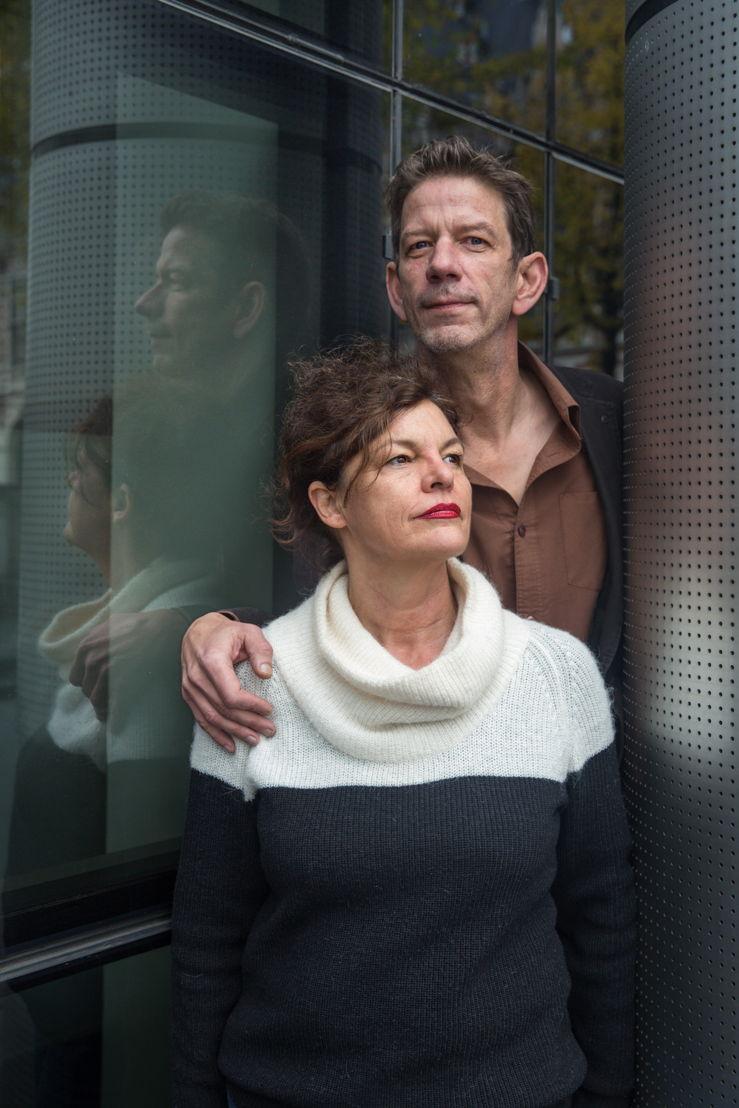 Chris Dusauchoit en Hilde Van Mieghem (c) VRT