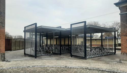 Nieuwe parking en fietsenstalling voor station Schoonaarde