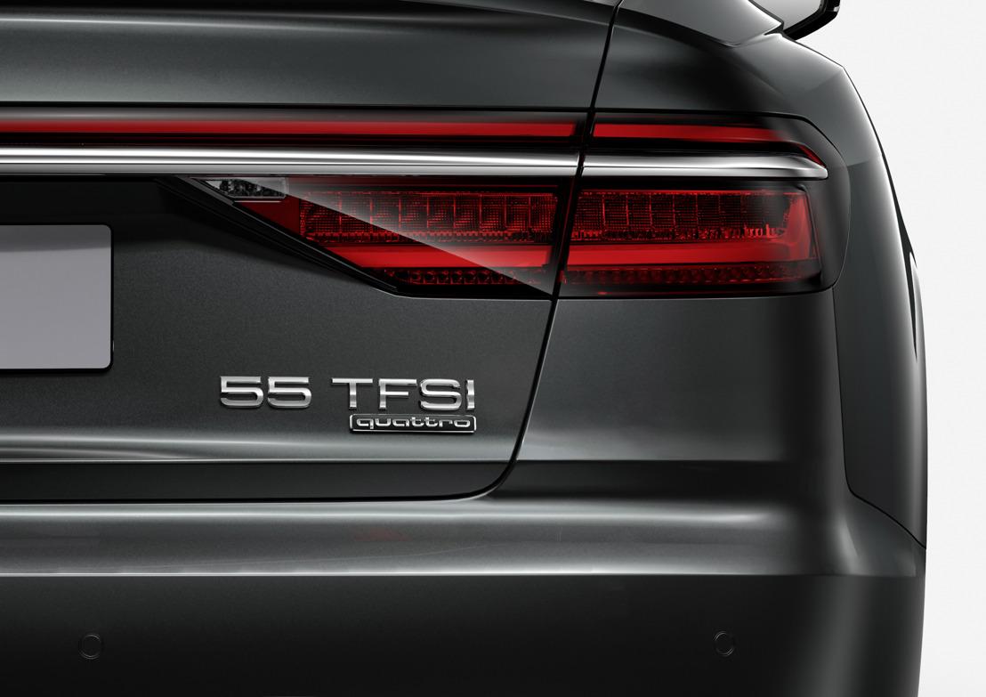 Twee cijfers geven richting – nieuwe vermogensaanduiding bij Audi