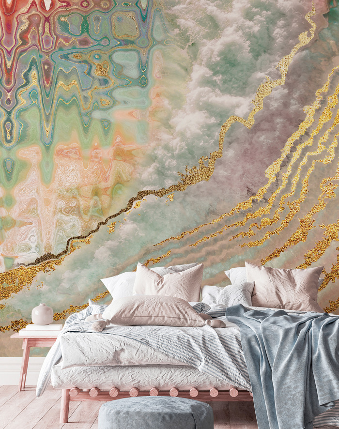 Preview: S/S Trend: Pastel Wallpapers