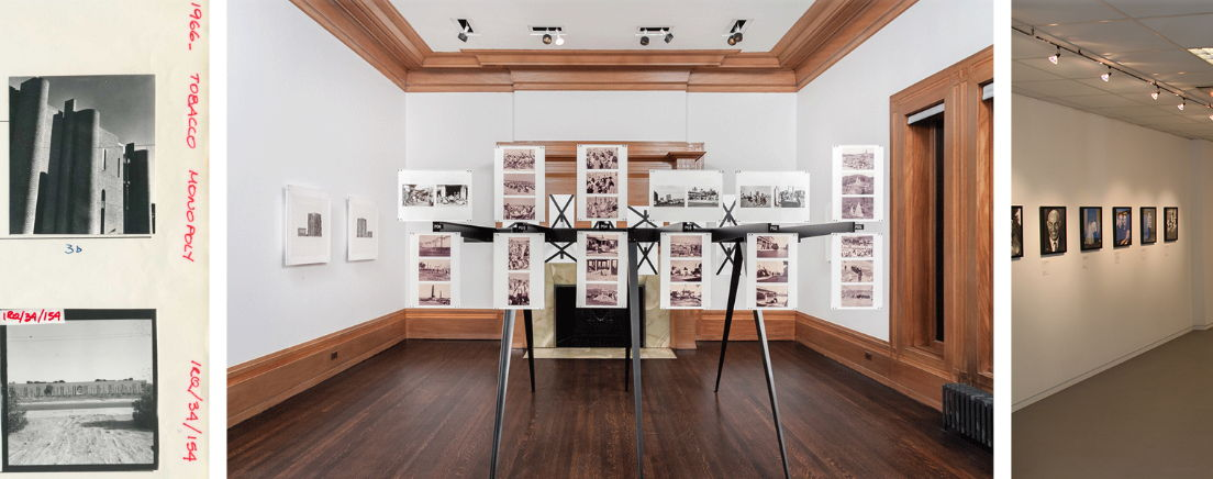 """View of """"Every Building in Baghdad: The Rifat Chadirji Archives at the Arab Image Foundation"""", 2016, Graham Foundation, Chicago. Photos by: RCH 
