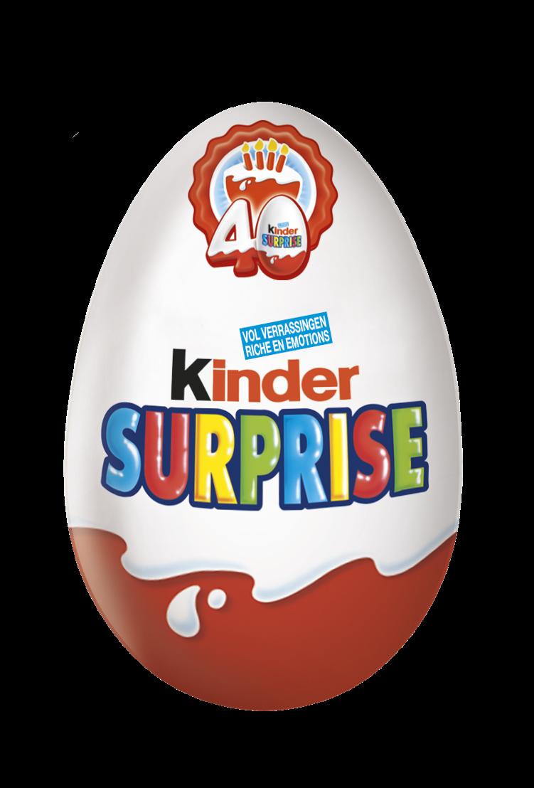 Kinder Surprise 40 jaar