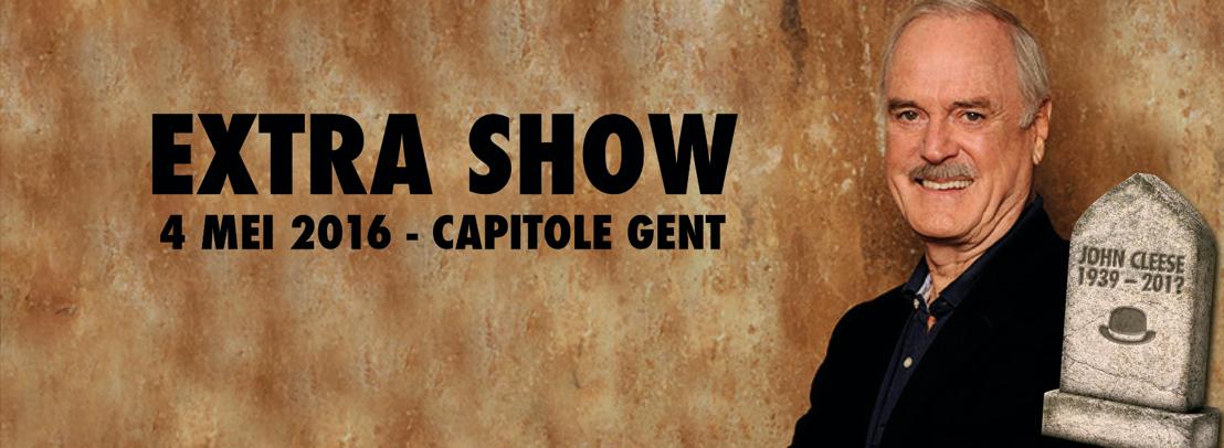 Aankondiging: extra show John Cleese