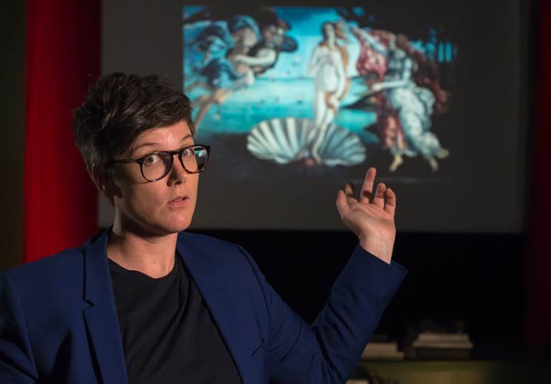 Hannah Gadsby&#039;s Nakedy Nude<br/>Click here to download image