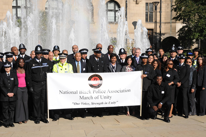 """National Black Police Association Conference Dallas Peace March - """"One Police One Voice We are all in this together"""""""