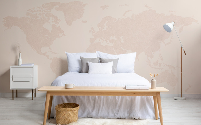 See the world from within your walls: MuralsWallpaper releases wanderlust map collection