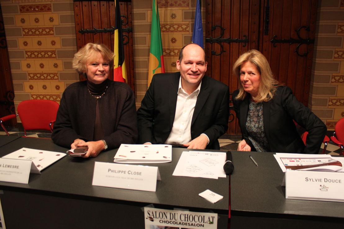 Marion Lemesre, Philippe Close et Sylvie Douce