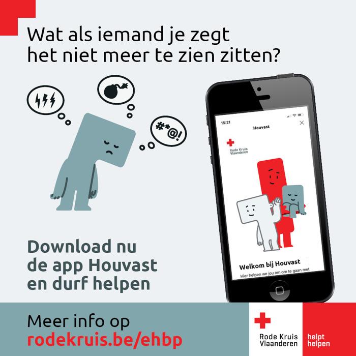 App van Rode Kruis biedt eerste hulp bij psychische problemen