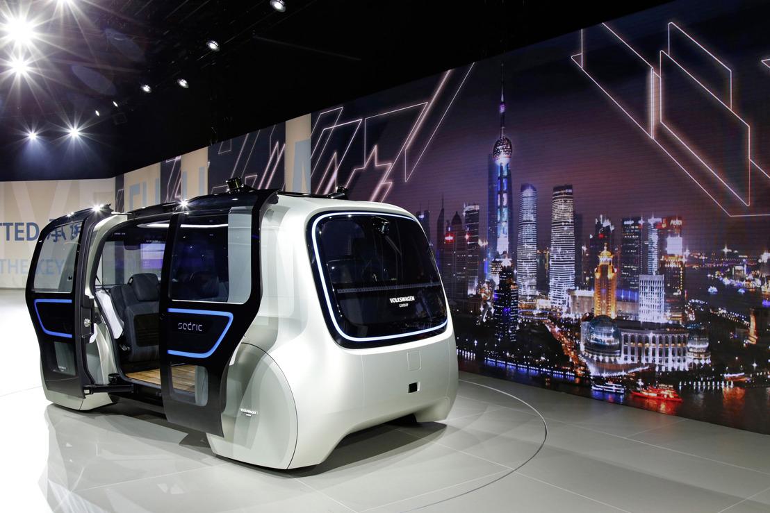La mobilité électrique au cœur des projets chinois du Groupe Volkswagen